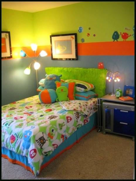 Monster boy 39 s room modern kids atlanta by modern for Rooms to go kids atlanta