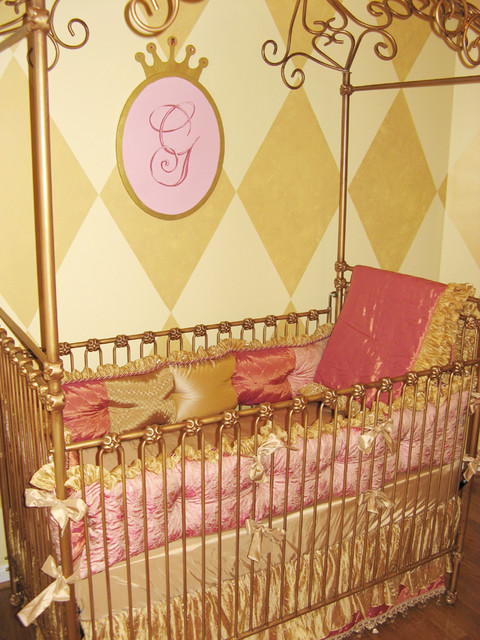 Moroccan Princess Nursery eclectic-kids