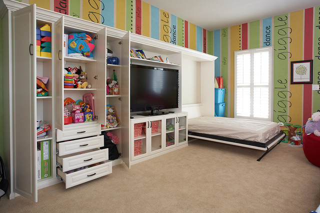 Murphy Beds - Traditional - Kids - dc metro - by Tailored Living feat PremierGarage of Northern VA