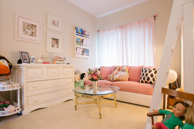 My Houzz: Comfortable With a Hint of Glam transitional-kids
