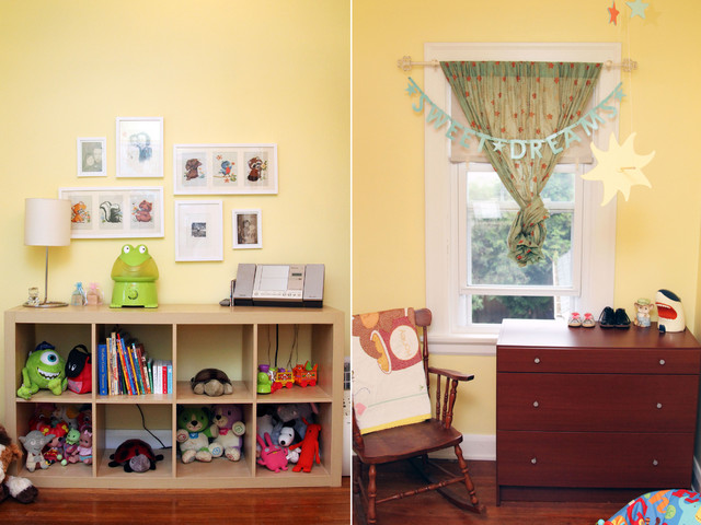 My Houzz: Professor's Art Filled Haven In The City eclectic-kids