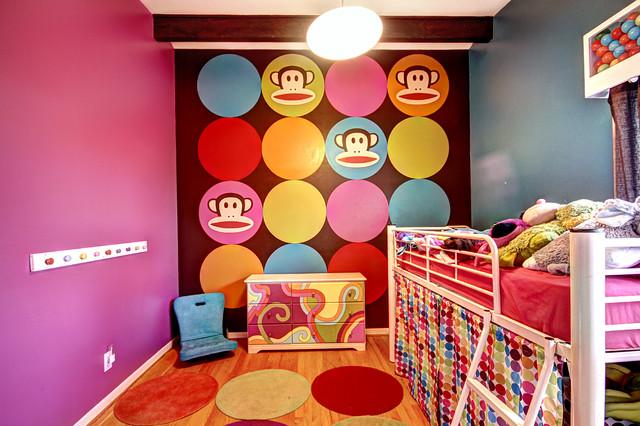 My Monkey's Room midcentury-kids
