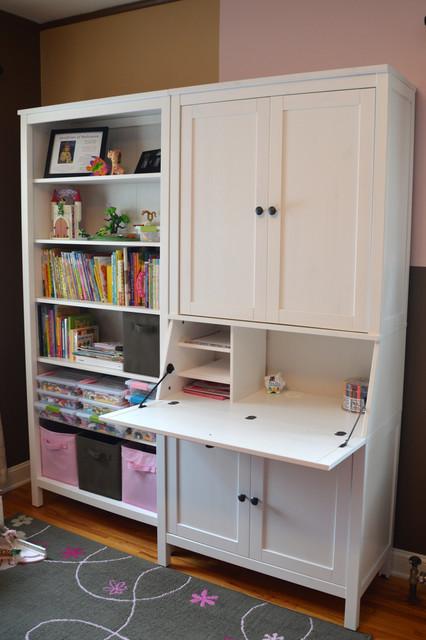 nadia's room - klassisch - kinderzimmer - minneapolis, Moderne deko