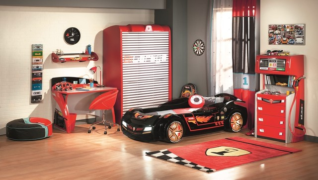 Need For Sleep Collection Kids Car Bedroom Eclectic Kids