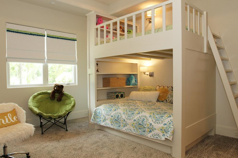 Kids' room - contemporary kids' room idea in Houston