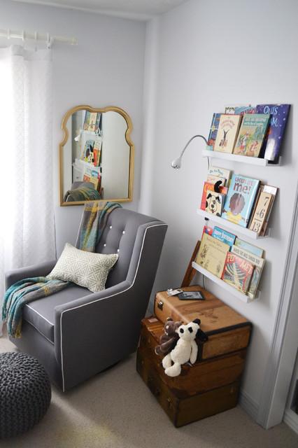 Kids' room - contemporary kids' room idea in Omaha