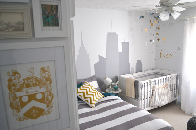 Nursery & Guest Room Re-Design contemporary-kids