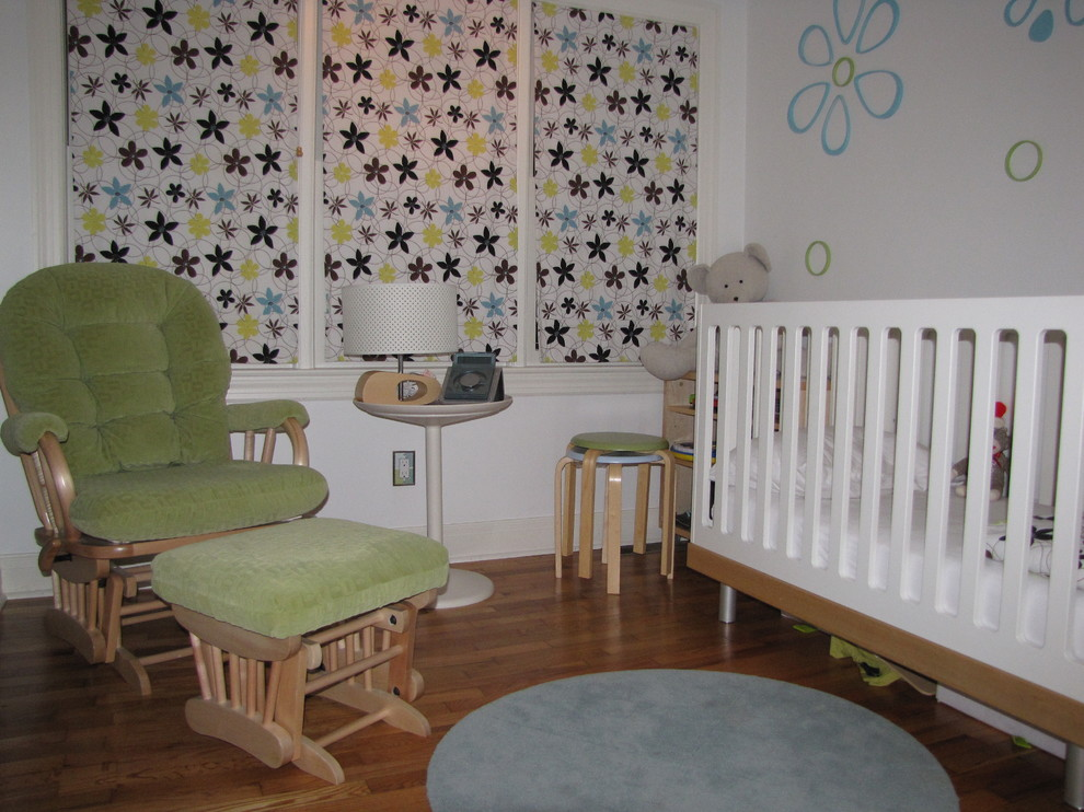 Trendy kids' room photo in Other