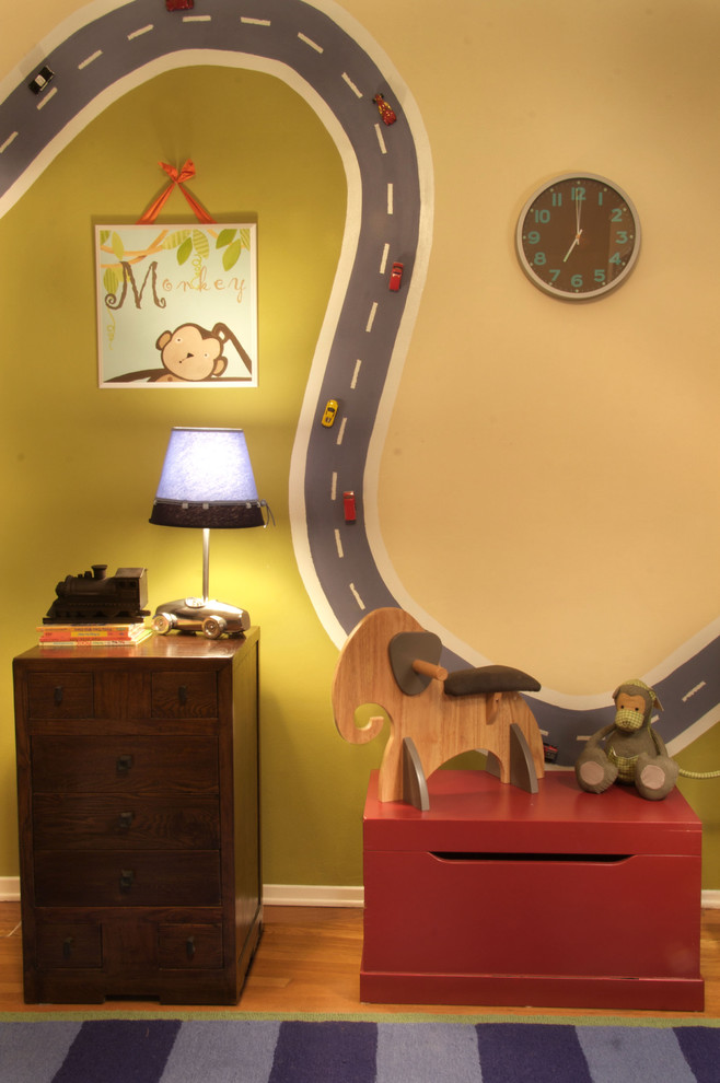 Inspiration for an eclectic kids' room remodel in Los Angeles