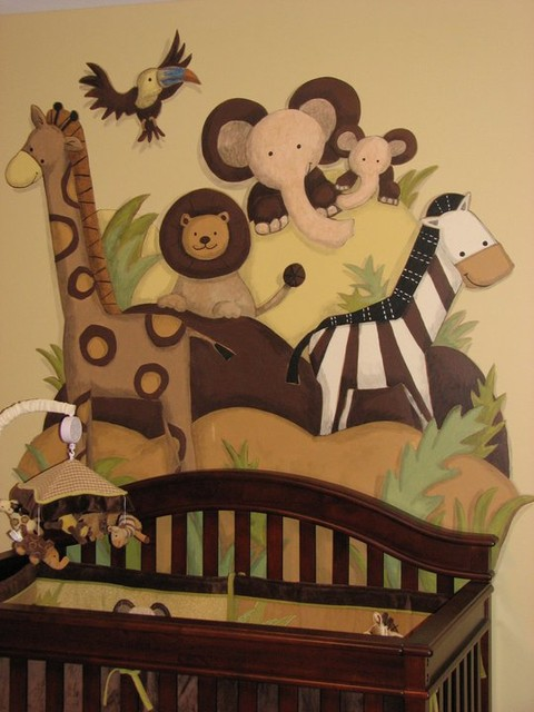 Nursery Murals traditional-kids