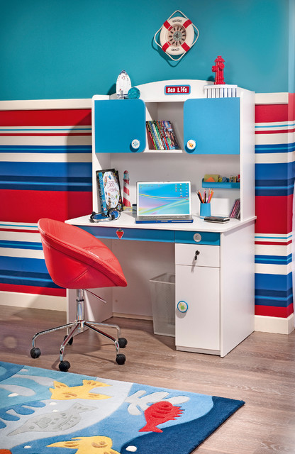 Ocean - Beach Style - Kids - miami - by Turbo Beds