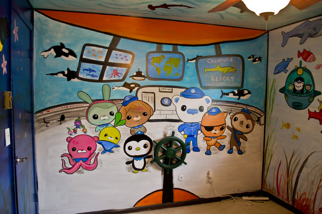octonauts kid s room mural eclectic kids other by octonauts sub wall sticker octonauts poster octonauts