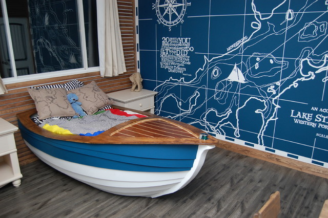 Oliver Laurins Nautical Themed Toddler Bedroom American
