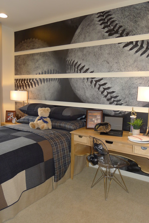 Interior Baseball Bedroom Ideas boys baseball theme rooms design dazzle rooms