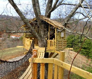 Oriental Themed Treehouse, North Carolina - Asian - Kids - charlotte ...