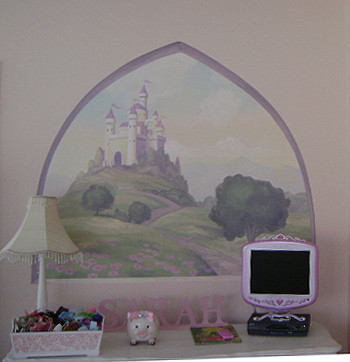 Our Princess Room traditional-kids