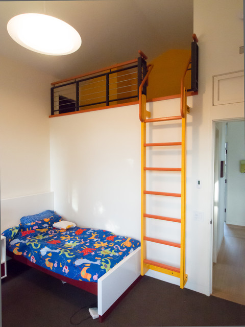 Palo Alto Green Point Rated House modern-kids