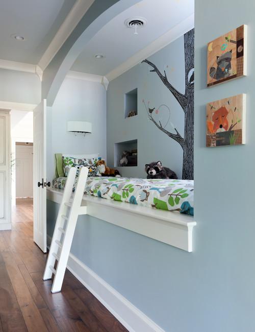 chambre d enfant 12 astuces pour optimiser les petits espaces femme actuelle. Black Bedroom Furniture Sets. Home Design Ideas