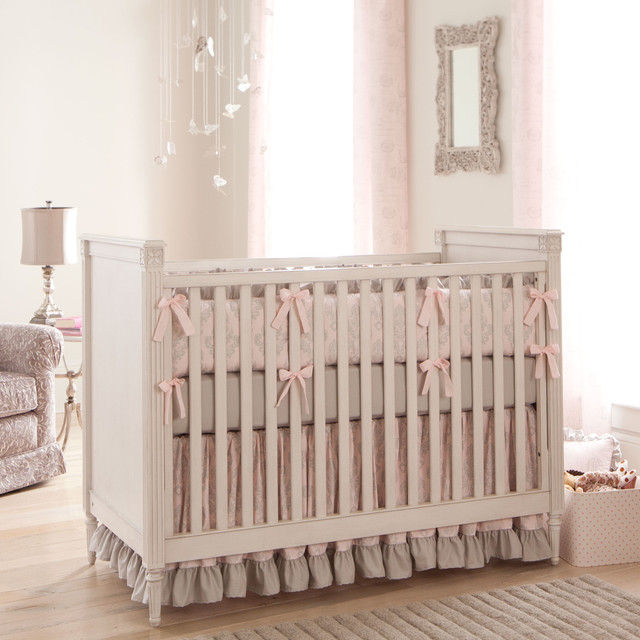 Paris Script Crib Bedding Collection by Carousel Designs traditional kids