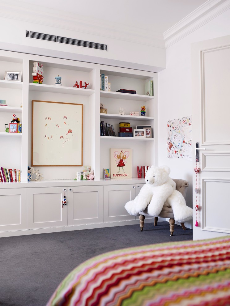 Example of a classic playroom design in Sydney