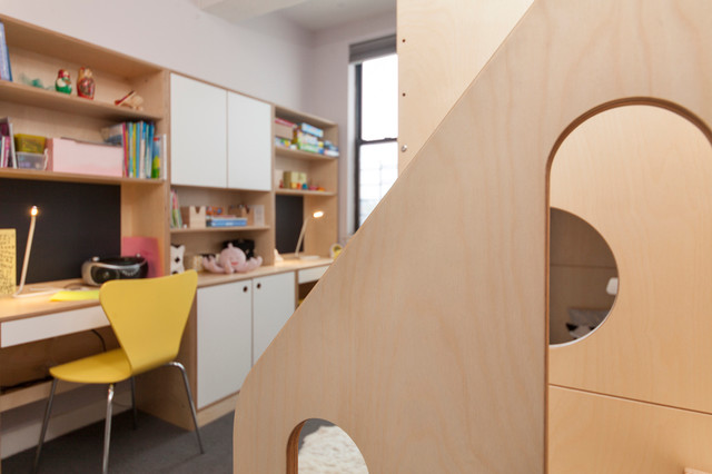 park slope bunk bed desks and storage for two sisters contemporary kids bunk beds casa kids