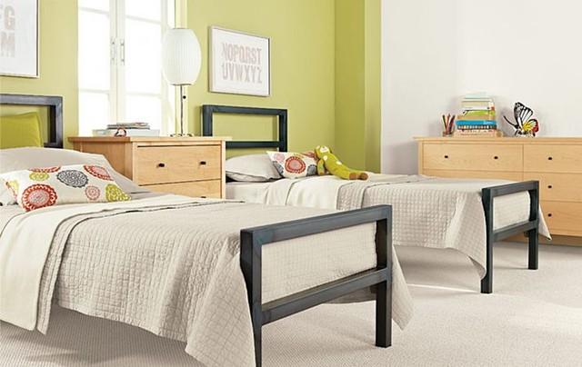 parsons bed sherwood dresser bedroom by rb modern kids
