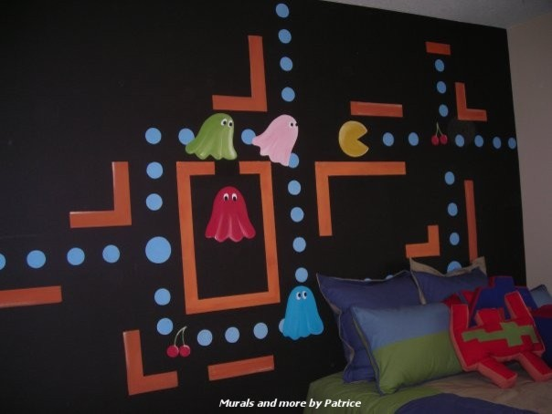 Example of a minimalist kids' room design in Los Angeles