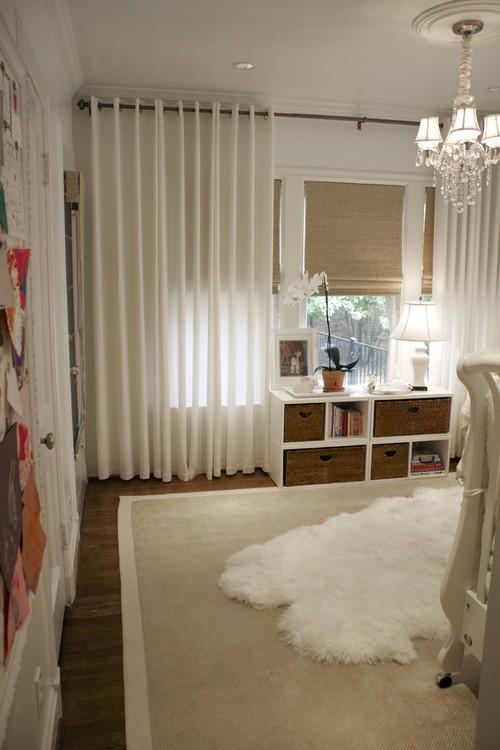 Ikea White Sheep Rug