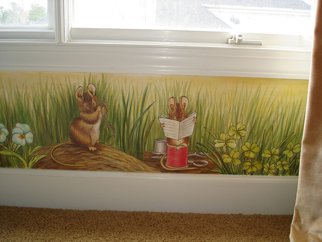 Peter Rabbit Mural Inspired By Beatrix Potter Eclectic Kids Part 44