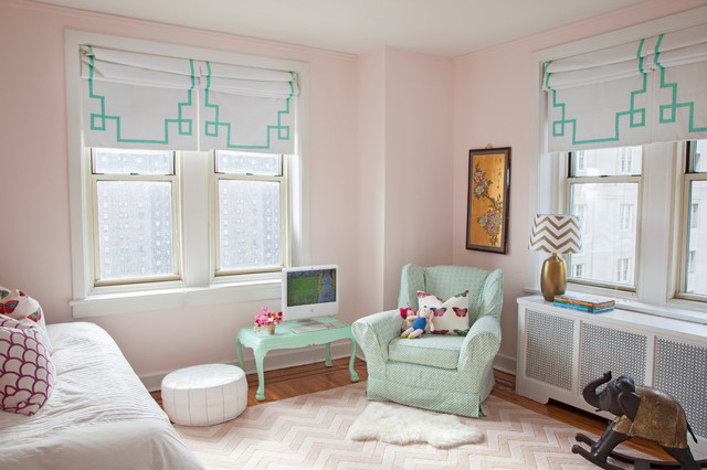 Kidsu0027 Room   Eclectic Girl Kidsu0027 Room Idea In Philadelphia With ...