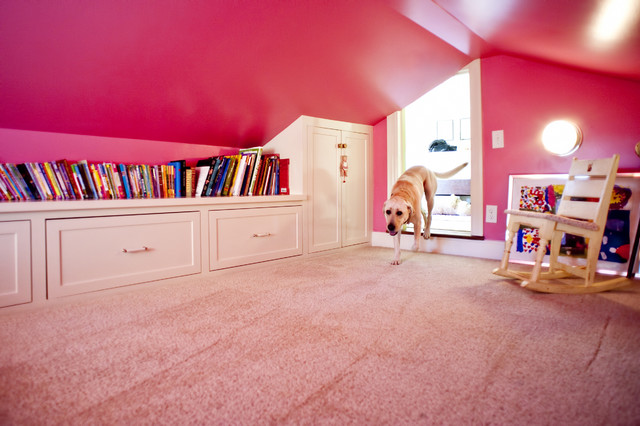 Pink Attic Playroom traditional-kids & Pink Attic Playroom - Traditional - Kids - Louisville - by Rock ...
