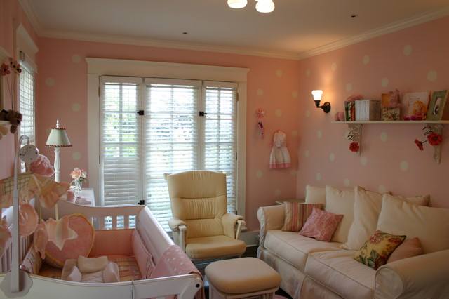 Pink Baby Room Traditional Kids Charlotte By