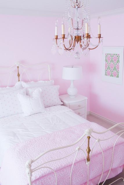 Pink Girl's Bedroom traditional-kids