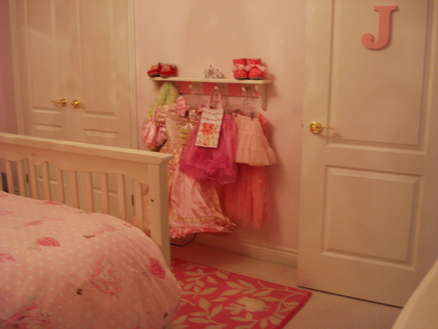Pink Princess Room traditional kids