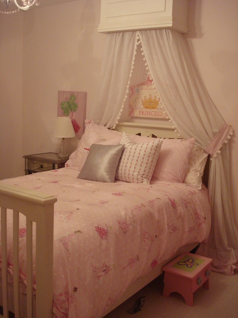 Pink Princess Room traditional-kids