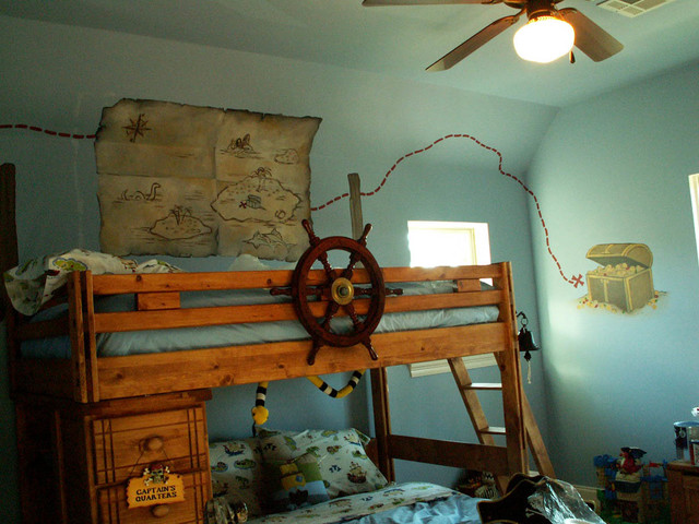 Boys Pirate Bedroom: Pirate Boy's Room