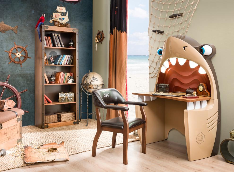 Kids' room - coastal boy kids' room idea in Miami