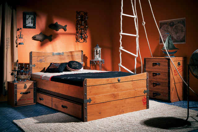 pirate ship bedroom bord de mer chambre d 39 enfant miami par turbo beds. Black Bedroom Furniture Sets. Home Design Ideas