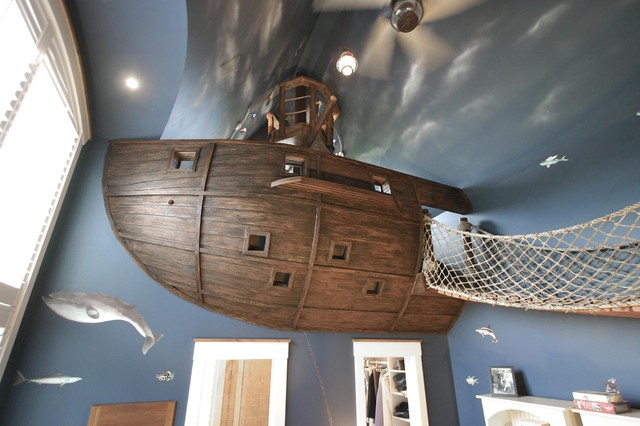 Pirate Ship Room Amp Other Fun Things Eclectic Kids