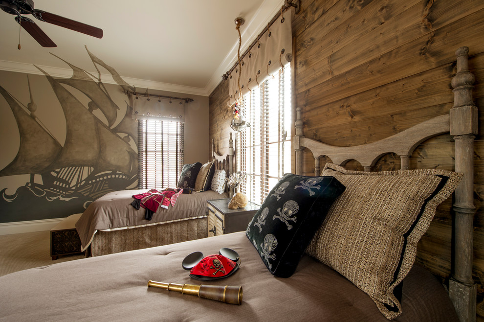 Pirate Themed Kids Bedroom Beach Style Kids Orlando By Goehring Morgan Construction