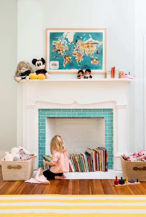Ways to decorate a nonworking fireplace - Decorate non working fireplace ...