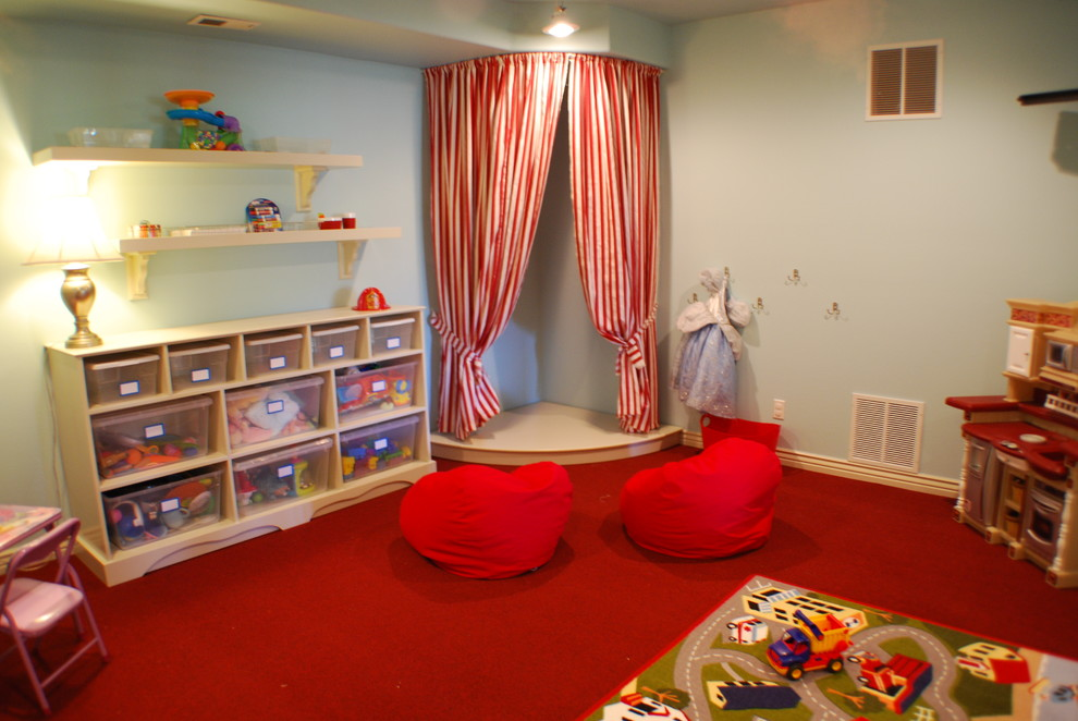 Inspiration for a timeless kids' room remodel in Boise