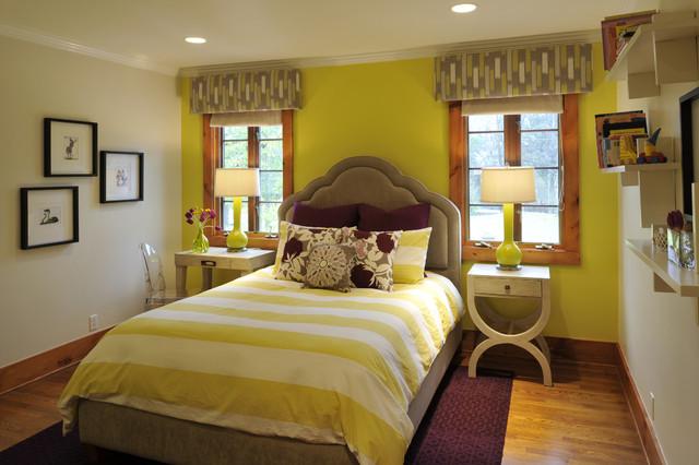 Playfully Plum Bedroom