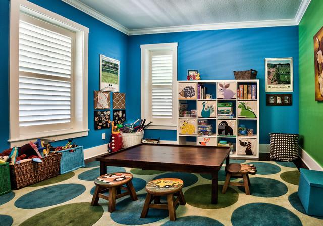 Contemporary Kids Tampa Playroom contemporary-kids