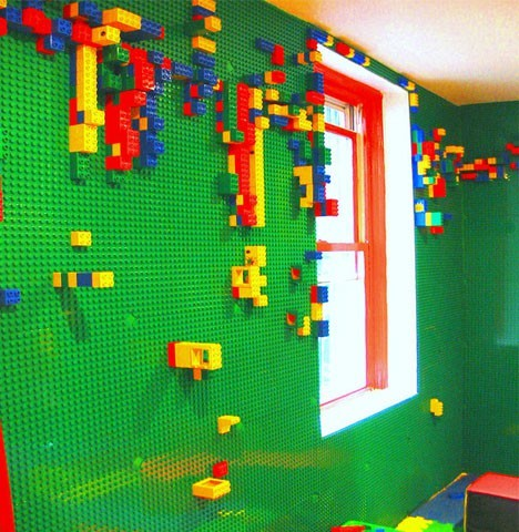 Example of a trendy kids' room design in Other
