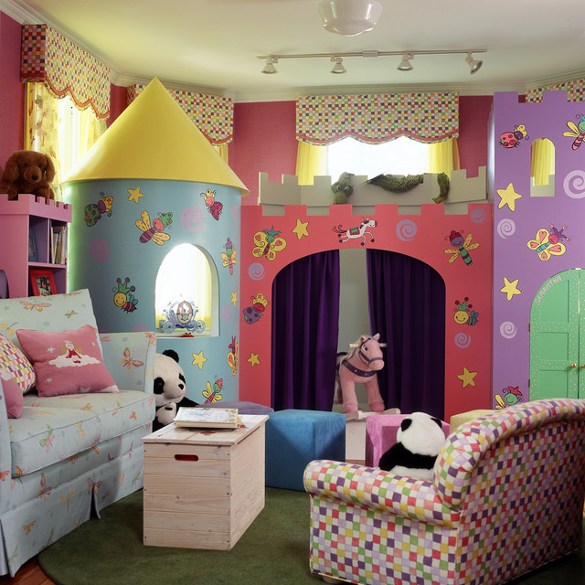 Playroom - Traditional - Kids - Baltimore - by Johnson Berman