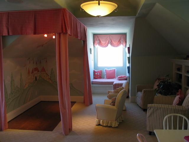 Playroom / Kids Bedroom traditional-kids