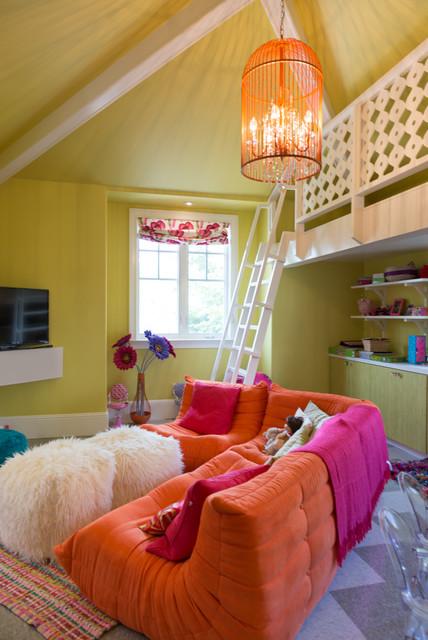 Playroom Loft contemporary-kids
