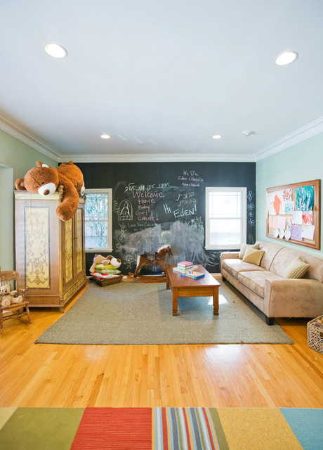 Playroom - Los Feliz Residence contemporary-kids