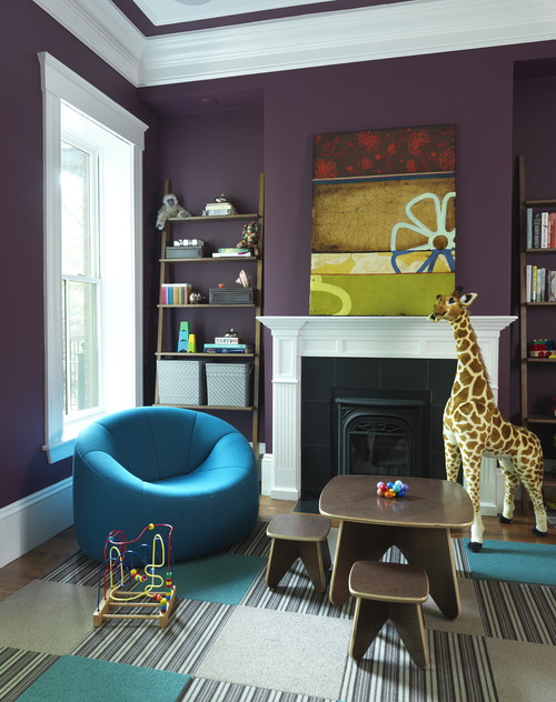 Playroom modern kids